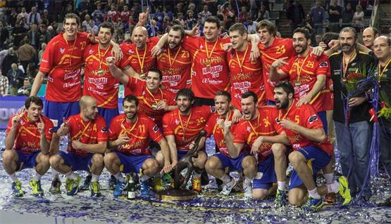 selección española de balonmano campeona del mundo 2013 jugadores