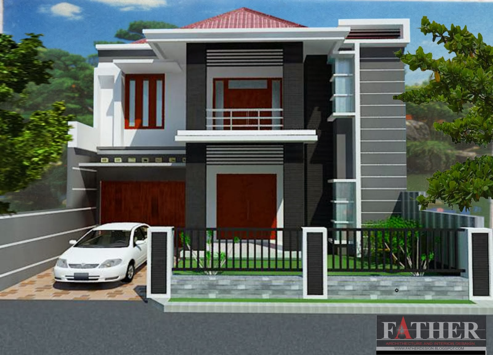 Desain Rumah Minimalis Type 70 Gambar Dan Denah Aga Kewl