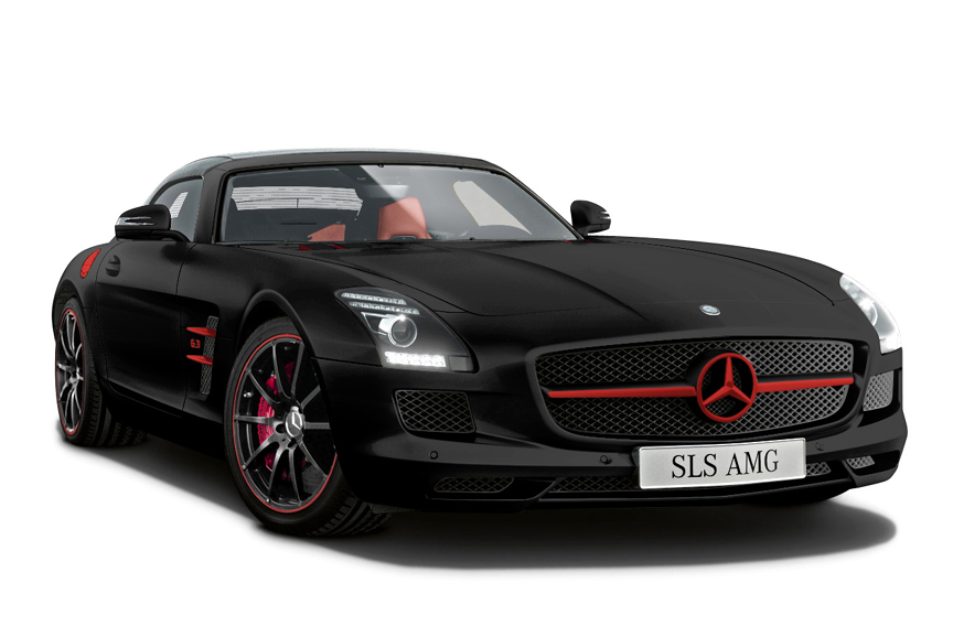 Mercedes SLS AMG Matte Editions Launched in Japan