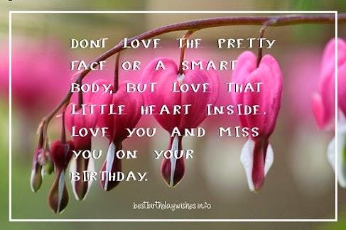 My Love Birthday Wishes