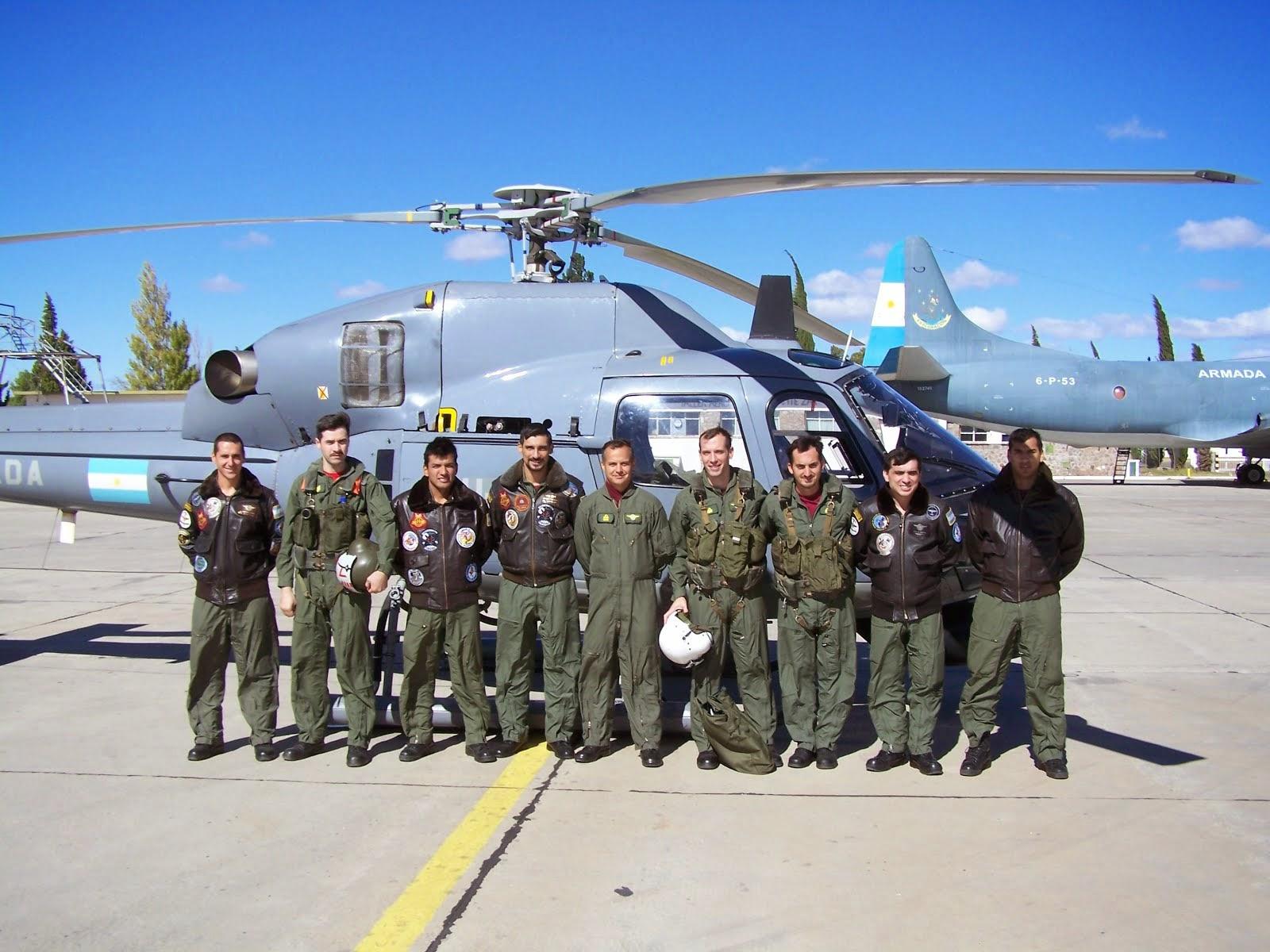 Primera Escuadrilla Aeronaval de Helicópteros en la BAAZ
