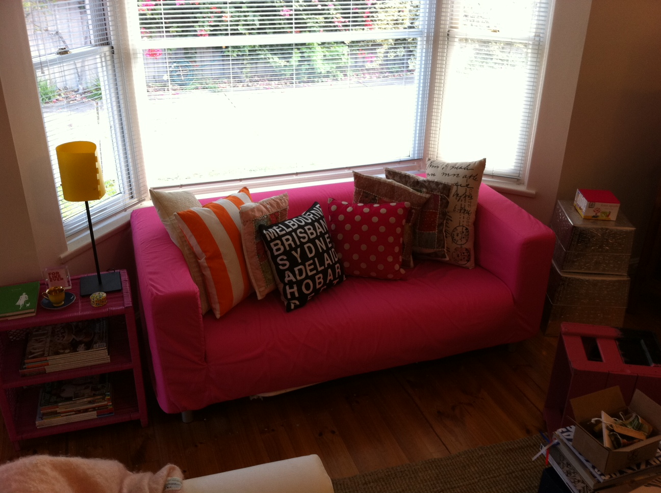the polkadot pantry power to the pink. Black Bedroom Furniture Sets. Home Design Ideas