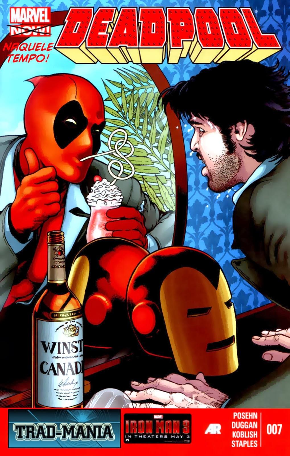 Nova Marvel! Deadpool v5 #7