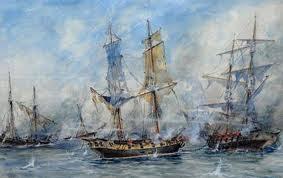 'Combate de San Nicolás', óleo de Justo P.Lynch, tomado del web canal Encuentro