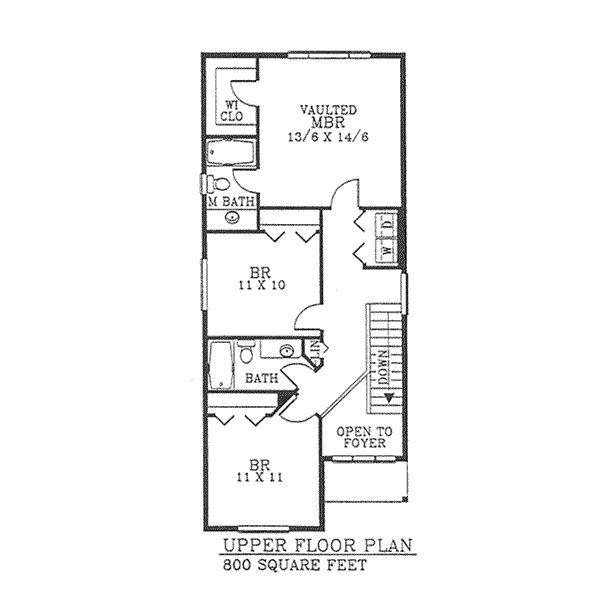 Medidas Baño Casa Habitacion:Plano Arquitectónico de Casa Habitación de dos niveles y 3 recamaras