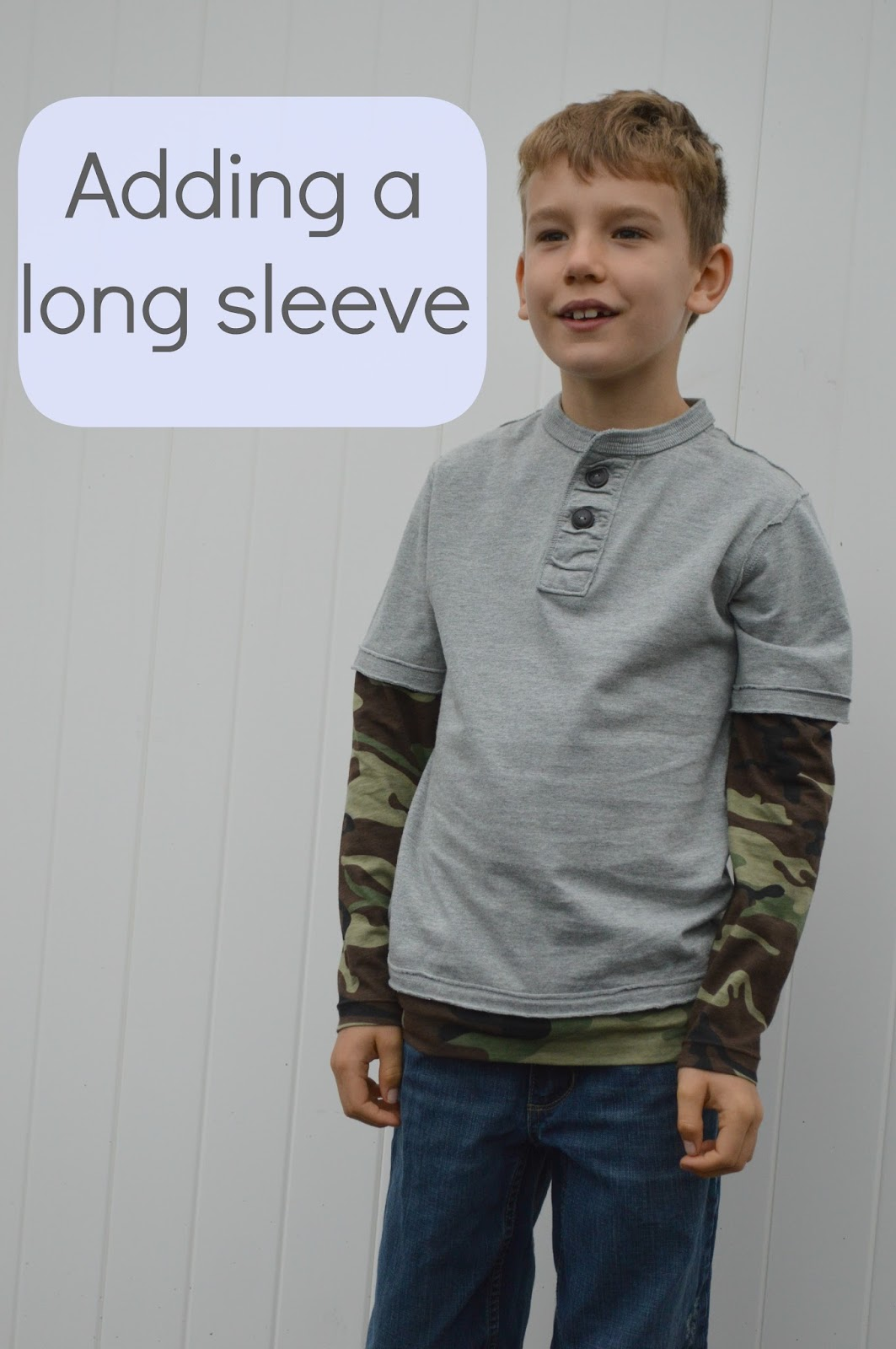 Add a Sleeve to a Short Sleeve T-shirt - Coffee Thread