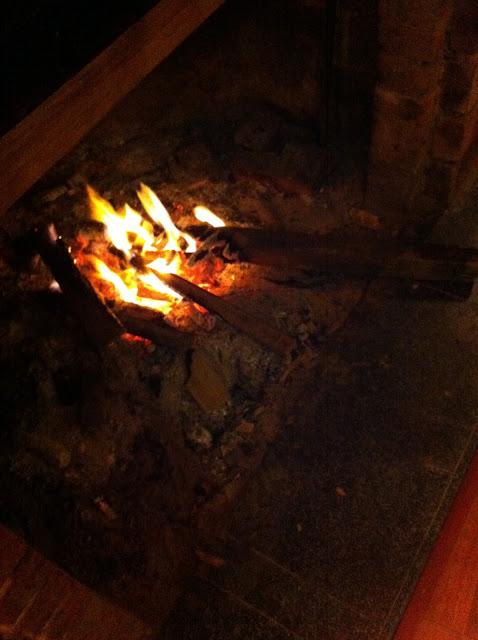Sa Pa fireplace