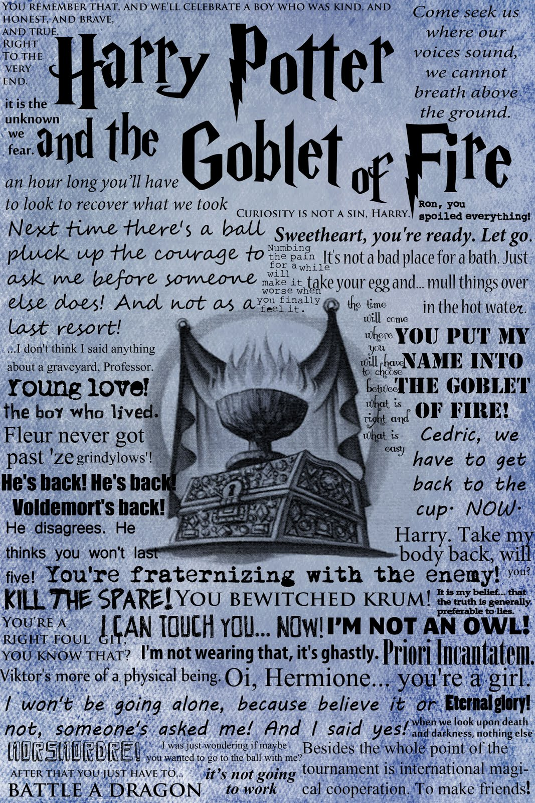 Quotes From Harry Potter Paper, Pen, and Polaro...