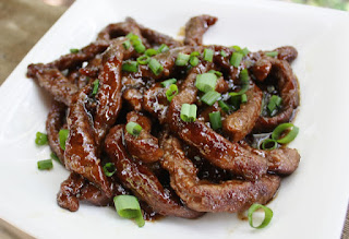 Country Fair Blog Party Blue Ribbon Winner: Best of Long Island and Central Florida's Mongolian Beef