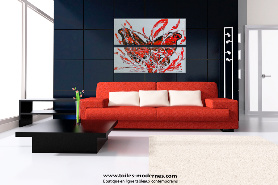jo lle caria artiste peintre toiles tableaux modernes contemporains tableau grand. Black Bedroom Furniture Sets. Home Design Ideas