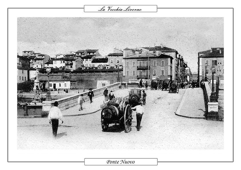 La vecchia livorno immagini d 39 epoca in foto e cartoline for Ponte sopra i disegni del garage