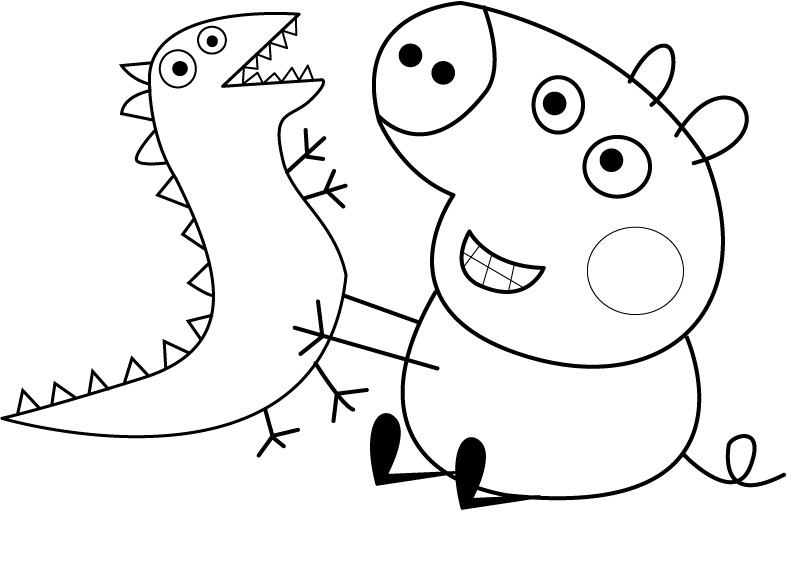 Disegni da colorare: PEPPA PIG