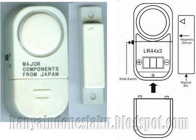 Alarm Anti Maling Otomatis