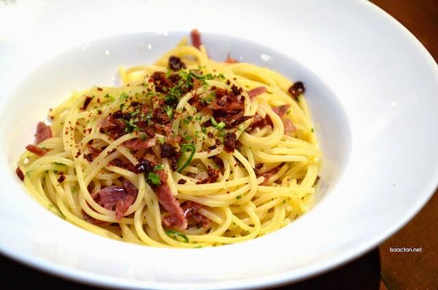 Spaghetti Aglio Olio with Bacon - RM24