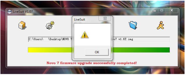 Install root enumerated driver livesuit