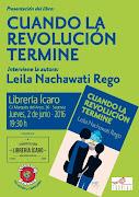 """Presentación en Segovia del libro """"Cuando la revolución termine"""" de Leila Nachawati Rego"""