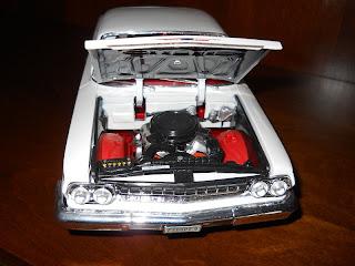 1962 Chevrolet Bel Air Maisto 1:18 diecast