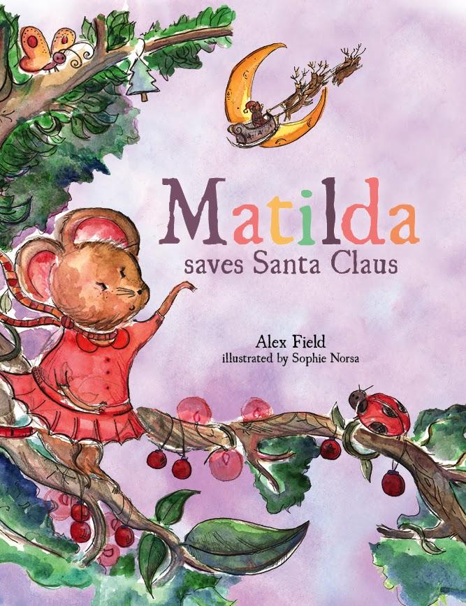 Kids book review matilda saves santa claus