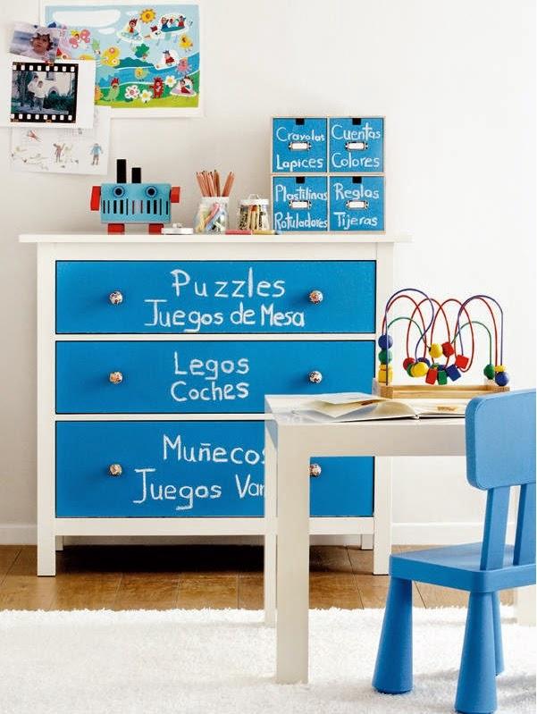 I d e a c moda infantil para ordenar los juguetes - Cajoneras para juguetes ...