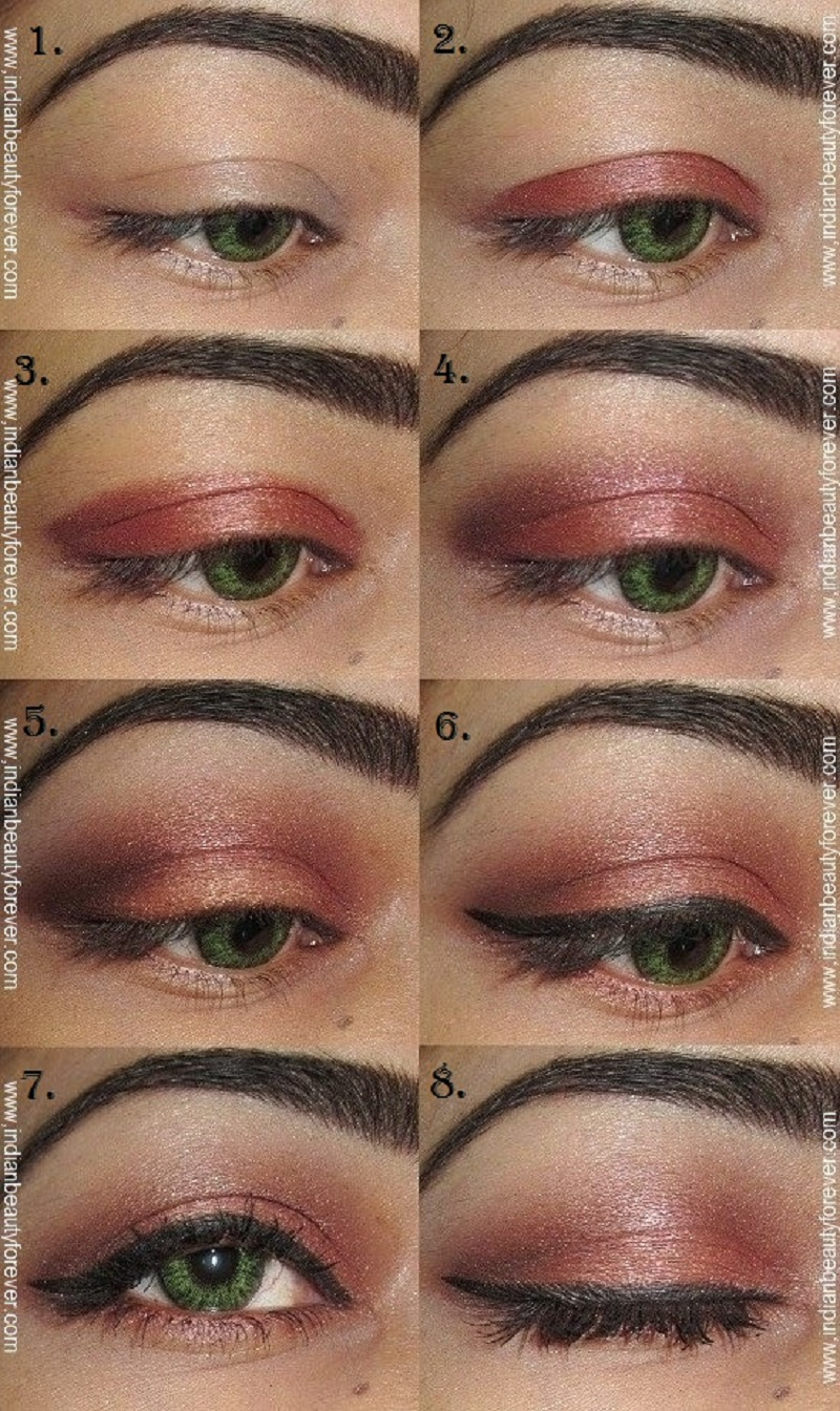 Neutral Brown Indian Eye Makeup Tutorial And Minor Variations