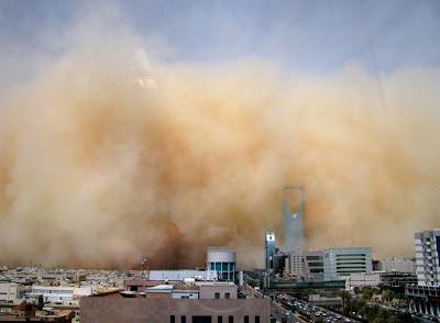 Cabo Verde: Tempestade de poeira oriunda do Saara cobre todo o arquipélago
