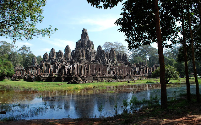 The Bayon in Angkor Thom, Cambodia