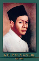 gambar-foto pahlawan kemerdekaan indonesia-KH. MAs Mansyur