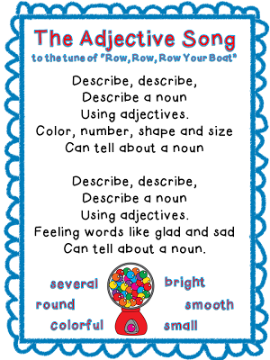 http://thirdgradebookworm.blogspot.com/2013/01/adjective-antics-games-freebie-and.html