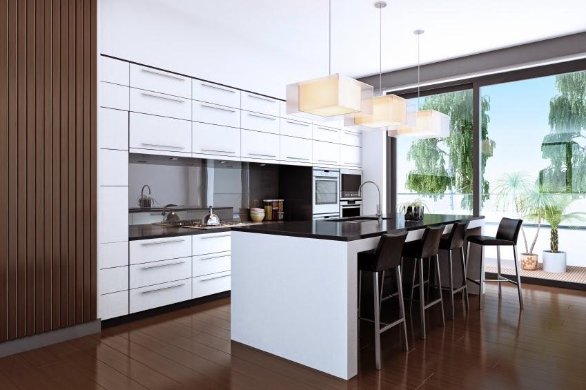 Home Decoration 50 Ultra Modern Custom Kitchen Designs
