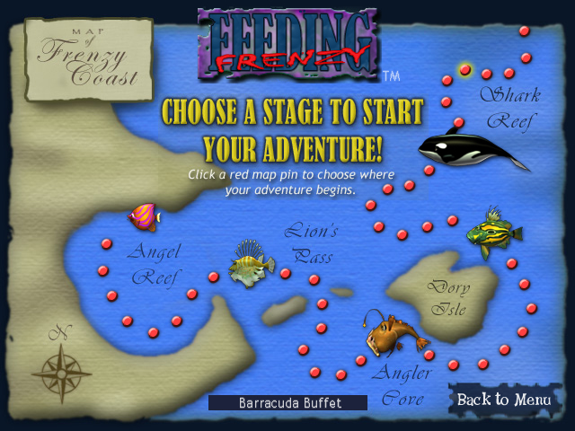 Feeding frenzy 3 for Grow fish game