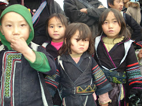 Ethnique vietnamienne Sapa