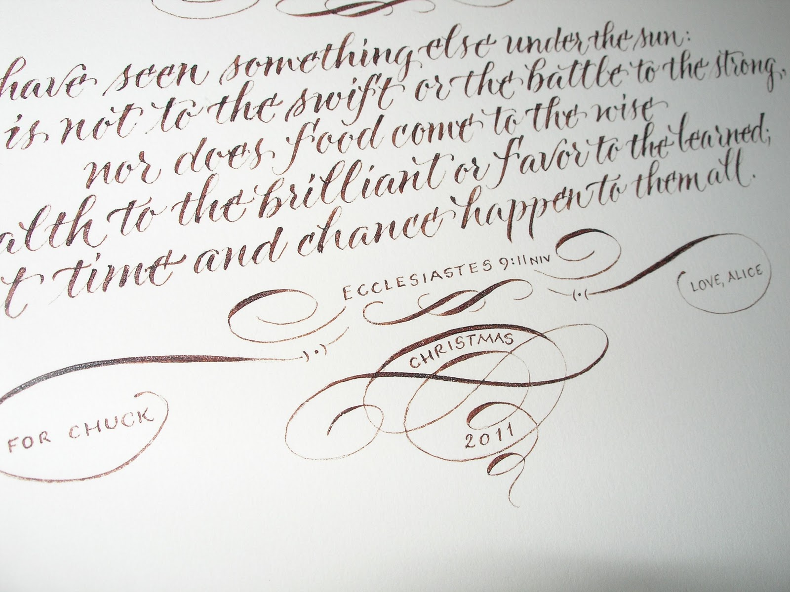 Wedding Calligraphy By Jane Farr Gift For A Husband