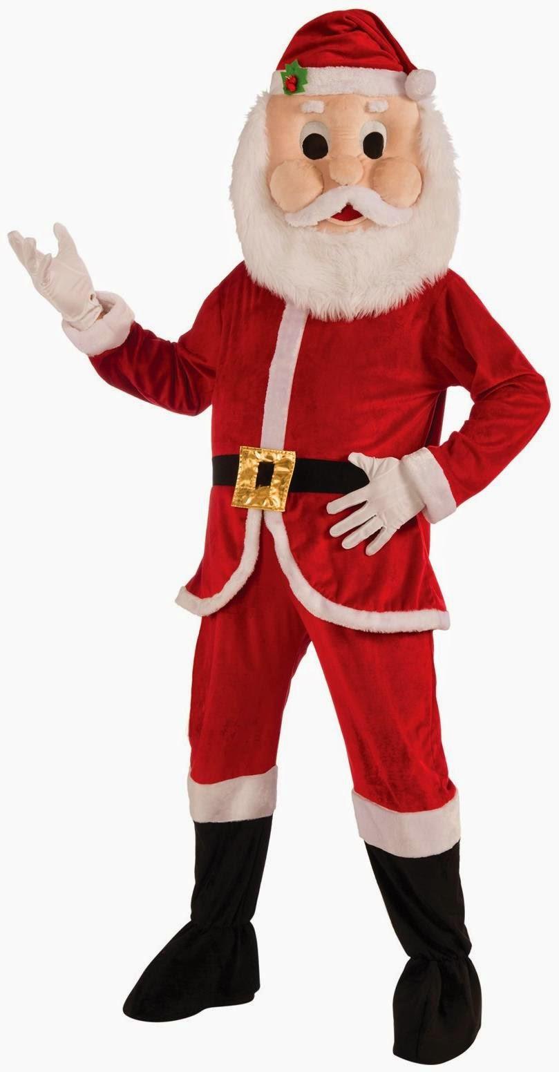 Santa Mascot Adult Costume