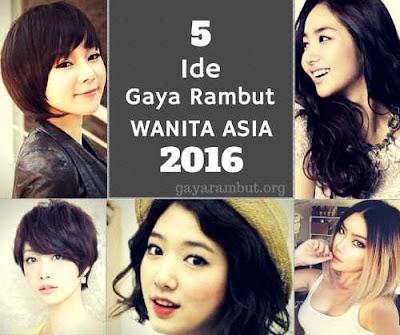 ide gaya rambut terbaik wanita asia 2016_600015667