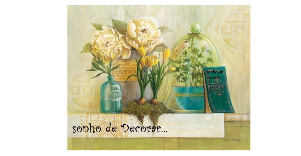 SONHO DE DECORAR.