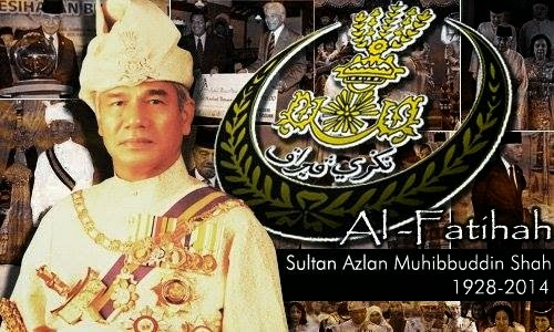 kemangkatan sultan perak, sultan azlan shah