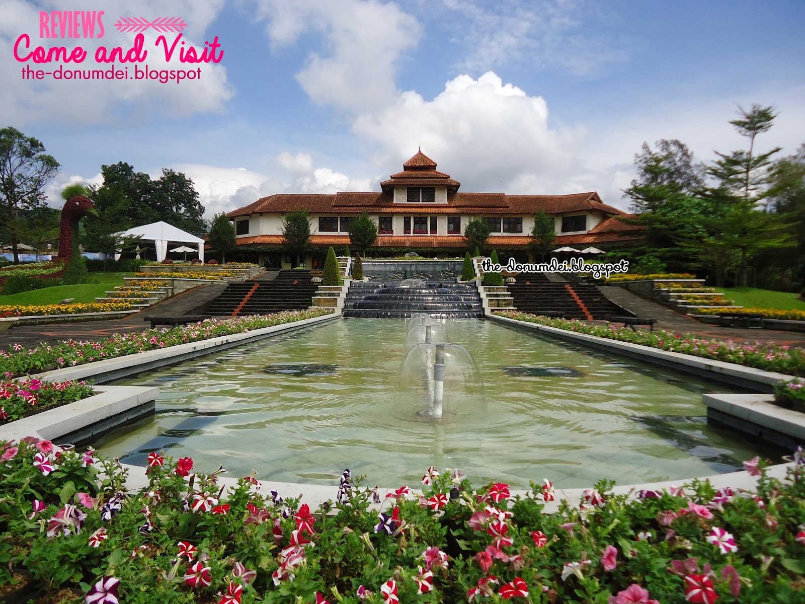 Donumdei Taman Bunga Nusantara Cianjur Puncak