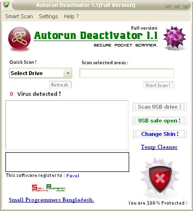 AutoRun Virüsü Nasıl Silinir?