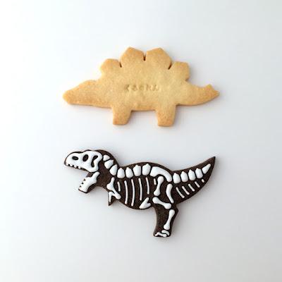 ステゴサウルスクッキー