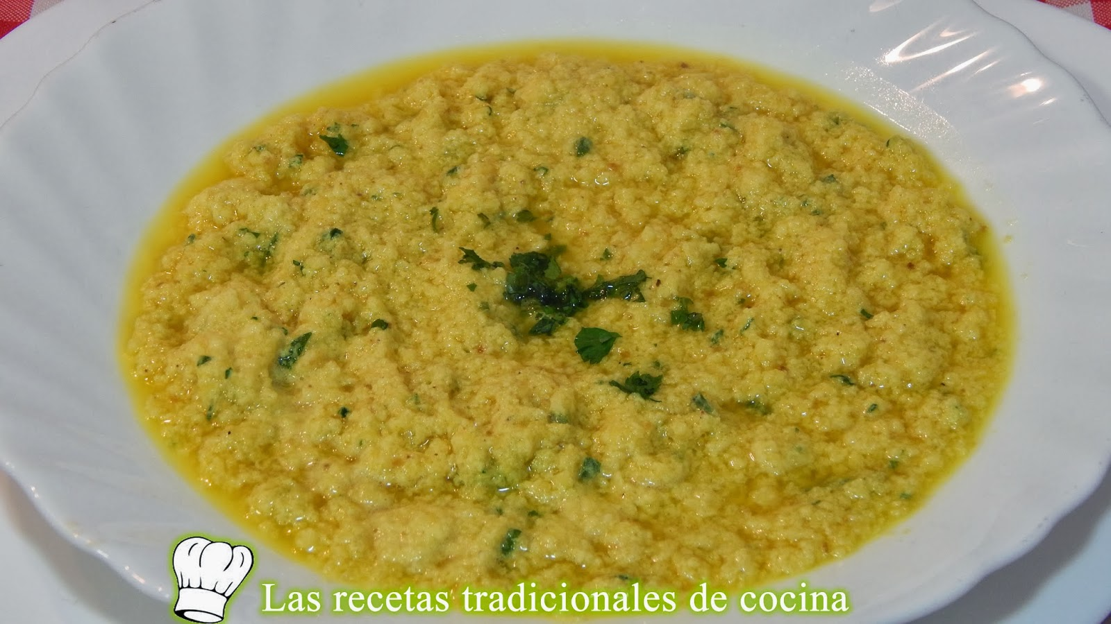 Receta fácil de la sopa Angélica