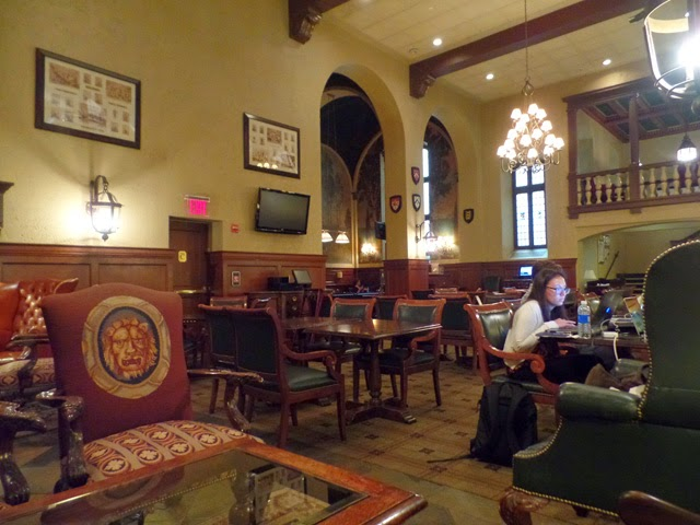 SWA Architecture: Yale Club Grill Room