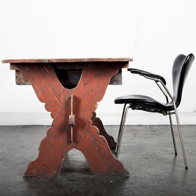 スウェーデン アンティーク テーブル