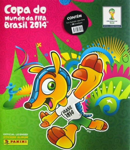 Álbum Copa do Mundo 2014
