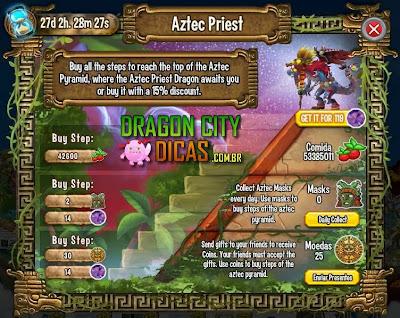 Ilha Asteca - 3.Sacerdote Asteca
