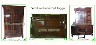 Kamar set Furniture Klender Anggur