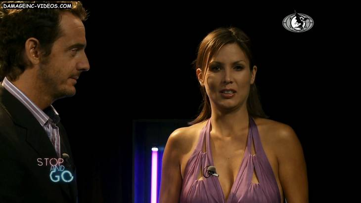 Argentina Celebrity Ursula Vargues big titted cleavage HD video 720p