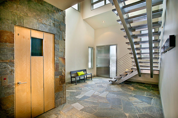 Beautiful weekend house in colorado mountains most for Modern home elevators