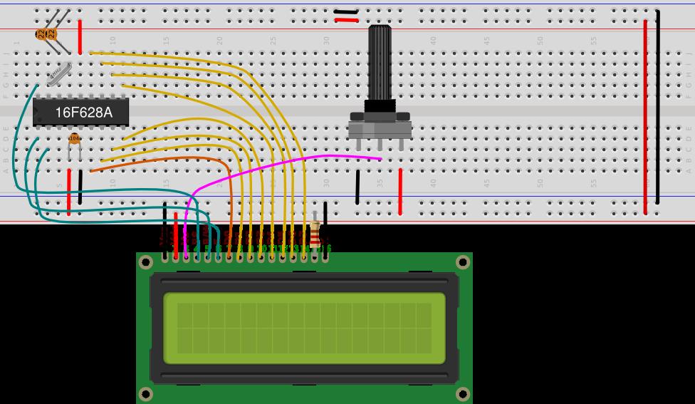 Arduino: Servo and LCD 2x16 biicode docs