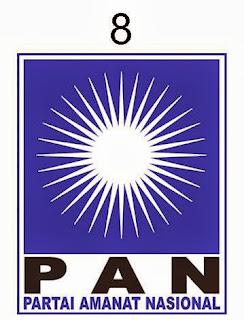 daftar caleg PAN untuk DPRD dapil 1 Tanah Bumbu