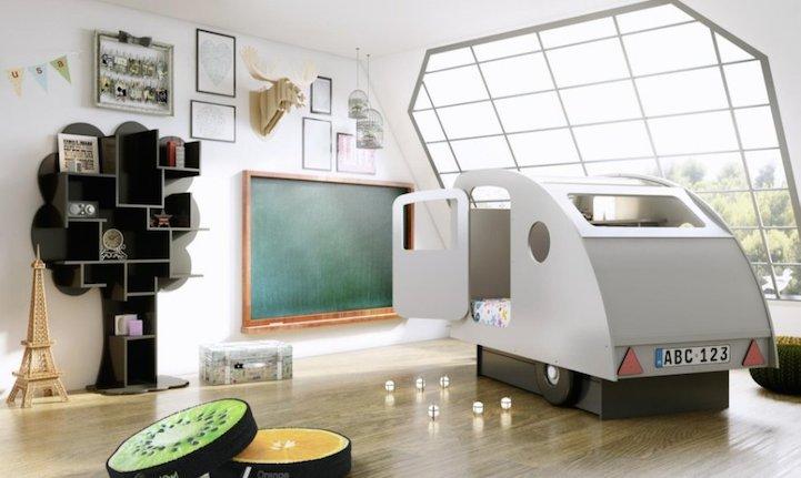 creativas camas para niños Mathy por Bols belgica